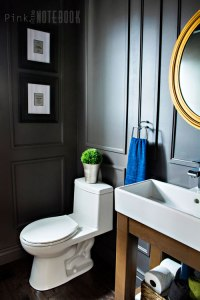 reveal-dated-powder-room-gets-a-moody-makeover-bathroom-ideas-small-bathroom-ideas-wall-decor
